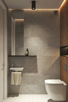 Top bathroom design - Interior Design Project in Contemporary Style by Geometrium – Top bathroom design