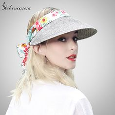 Outdoor Fashion Novelty Beach Sun Hat Summer Style Women Durable Fashion Floral Hat Caps For Holiday Men's Sun Hats