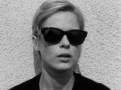 "Bibi Anderson in ""Persona"" (1966, Ingmar Bergman) /  Cinematography by Sven Nykvist"