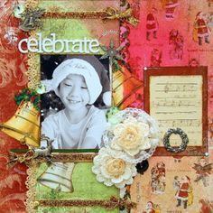 Tutorial for this gorgeous Chistmas Layout @Irene Tan #bobunny #scrapbooking