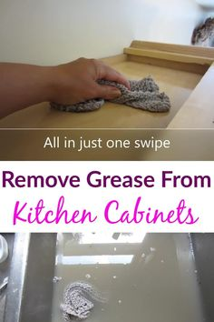 Have stuck on grease and grime. Tired of using toxic chemicals to clean. And even they don't work well. Time to clean your kitchen cabinets with this all natural homemade kitchen decreaser. Homemade Cleaning Products, Cleaning Hacks, Home Organization Hacks, Diy Home Decor Projects, Diy Home Improvement, Spring Cleaning, Grease, Home Remodeling, Tired