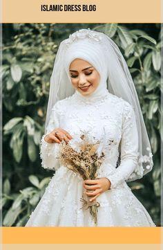 # Hijab Simplicity Grace Hijab Wedding Dresse… – About Wedding Dresses Bridal Hijab, Muslim Wedding Dresses, Muslim Brides, Wedding Hijab, Bridal Dresses, Wedding Gowns, Bridesmaid Dresses, Muslim Couples, Wedding Cakes