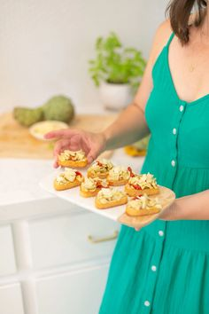 Try this simple artichoke bruschetta recipe for a delicious and quick appetizer. Perfect for antipasto and entertaining at home. It's a great summer party recipe idea, and a no-fail delicious side dish. Bruschetta Recipe, Quick Appetizers, Antipasto, Artichoke, Easy Meal Prep, Easy Meals, Side Dishes, Entertaining, Meal Recipes