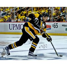 87010a5a4 Evgeni Malkin Pittsburgh Penguins 2017 Stanley Cup Champions Autographed 8  x 10 Stanley Cup Action Photograph