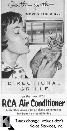 Old Air Conditioner Ad.