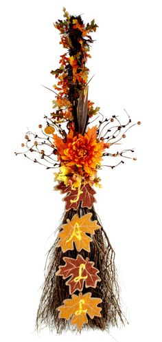 Fall Cinnamon Broom #fall #craft