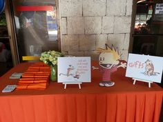 Calvin's Calvin and Hobbes Themed Party – Entrance