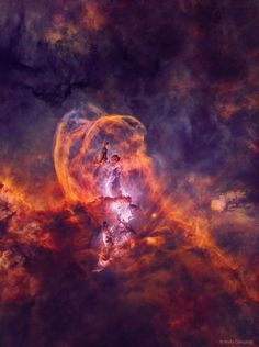 Star Forming Region NGC 3582 without Stars July 2019 via NASA What's happening in the Statue of Liberty nebula? Bright stars and interesting. Cosmos, Hydrogen Gas, Monuments, Astronomy Pictures, Space Photography, Star Images, Space And Astronomy, Nasa Space, Interstellar