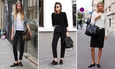 hoe draag je loafers: business werk work look