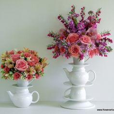 Alice in Wonderland Floral Arrangements