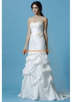 Günstige Brautmode berlin kaufen aus Satin Meerjungfrau