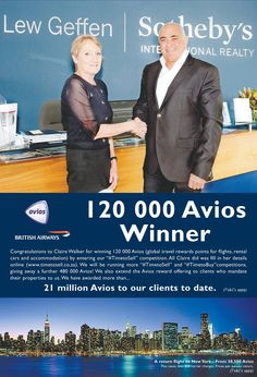Travel Rewards, British Airways, Car Rental, Competition, Things To Sell
