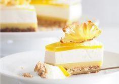 Tropisk cheesecake med ananas og malibu