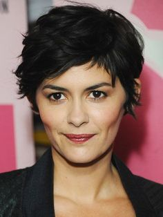 For a drastically different look, a chic pixie cut is always in style. Of course, so are Anne Hathaway and Audrey Tautou. I would caution against jumping in ...