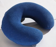 Latex Travel Neck Pillow (12x11x3 inch) - Springwel