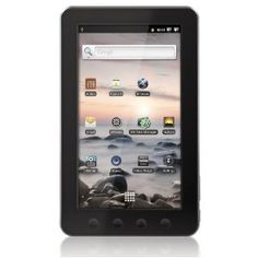 Coby Kyros 7-Inch?Android 2.3 4 GB Internet Touchscreen Tablet - MID7012-4G (Black)
