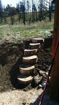 NapadyNavody.sk   20 skvelých nápadov na schody do záhrady