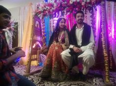 Hira Tareen And Ali Safina Mehndi Pictures