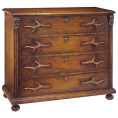John Richard Antler Dresser Four Drawer