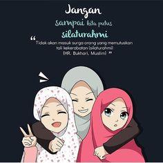 Quotes Sahabat, Cartoon Quotes, Quran Quotes, Best Friends Cartoon, Friend Cartoon, Girl Cartoon, Wallpaper Hp, Islamic Quotes Wallpaper, Galaxy Wallpaper