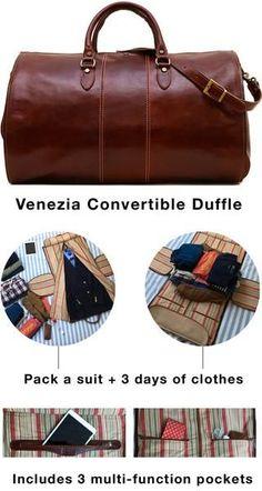 Leather Accent Tag - Venice by VIDA VIDA