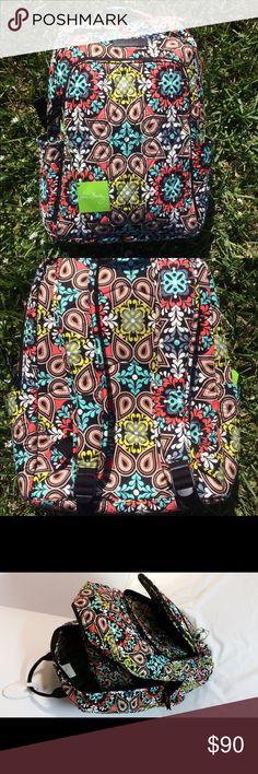Spotted while shopping on Poshmark: Brand new ! Vera Bradley large campus backpack! #poshmark #fashion #shopping #style #Vera Bradley #Handbags