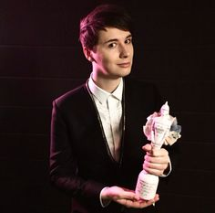 Dan at the Brits 2015