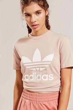 adidas Originals Adicolor Trefoil Crew-Neck Tee