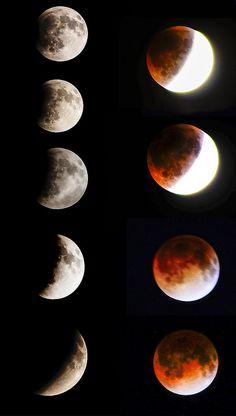 Lunar Eclipse, Blood Moon 15 April, 2014