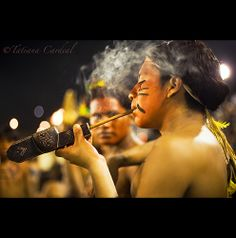 Guarani pipe's spirit - Brasil. National Festival, The Smoke, People Of The World, The Locals, South America, Native American, Beautiful People, Folk, Concert