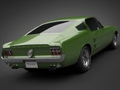 1967 Ford Mustang Fastback. My fav.