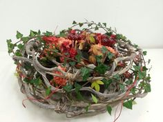 Academy of Floral Art Floristry Schoo Designed for a cottage lounge by Victoria Lawrence Turner