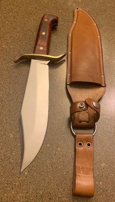 "Bowie Knife - USA Western 1977 ""A"" First year date coded original plant & last yr made in Bould"