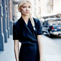 Outfit of the Week: A Work-Friendly Black Dress by MM.LaFleur and Great Heels