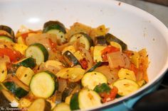 The Monogrammed Mom - Ratatouille Whole30 Paleo Gluten-free Side dish Dinner