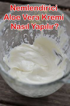 How to make aloe vera cream? Making aloe vera cream for skin care.
