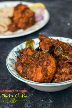 Restaurant style Chicken Chukka | adorable life
