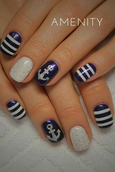 #Maritim #Anker #nails #sailing
