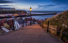 The View From The Steps. Taken at Whitby, North Yorkshire on 28/01/2015. By Mike Atkinson Photography.