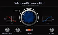 TAL-USE (Ultra Simple Eq) is especially designed after some tilt eq's from the 70's.