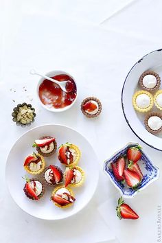 Strawberry Cheese Cake Tartlet