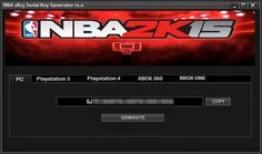 NBA 2K15 Keygen Generator Hack Tool