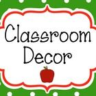 This bundle has everything you need to decorate your classroom and more! It features a black, red and green, polka dot, apple theme. It includes ov...