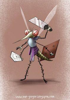Mosquito warrior - Personajes   Dibujando.net