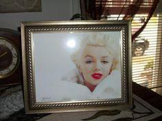 Framed Photo of Marilyn Monroe