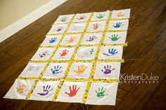 How to make a quilt~Gettin' crafty for a teacher gift - Capturing Joy with Kristen Duke