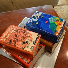 Book cakes - Catcher in the Rye and Great Gatsby - Cakes by Michelle