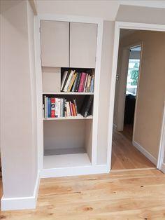 Kitchen refurbishment by Apli Construction Refurbishment, Bookcase, Kitchens, Construction, Shelves, Building, Home Decor, Restoration, Shelving