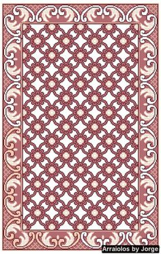 This Pin was discovered by Pet Hand Embroidery Patterns, Beaded Embroidery, Cross Stitch Embroidery, Cross Stitch Patterns, Embroidery Designs, Latch Hook Rugs, Rug Hooking, Cross Stitching, Rugs On Carpet