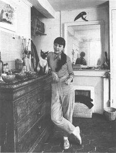 Jane Lougee, pubisher of Merlin, and Fuki,    Scott, Andrew Murray. Alexander Trocchi: The Making Of the Monster. Edinburgh: Polygon, 1991. https://ocotilloarts.com/Nine/Nine.htm